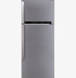 LG 471L Top Mount Fridge in Stainless, non plumbed water dispenser