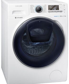 Samsung 11kg AddWash Front Load Washing Machine WW11K8412OW