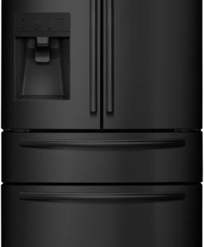 Hisense 701L French Door Fridge (Black Steel) HR6FDFF701BW