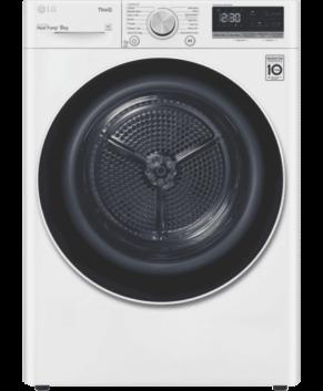 LG 8kg Heat Pump Dryer with Inverter Control DVH5-08W