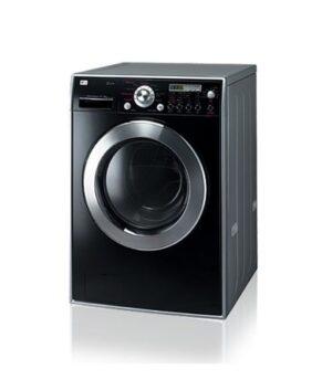 LG Black 10/6kg Steam Washer & Dryer  WD12576FD