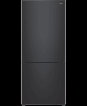LG 450L Bottom Mount Fridge With 4½ Star Energy Rating, Black Finish GB-450UBLX