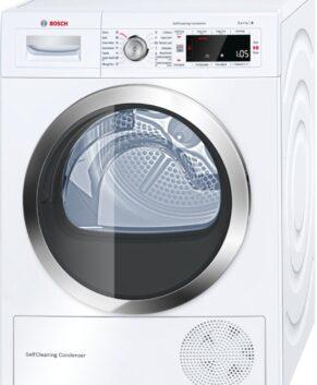 Bosch Serie 8 9kg Heat Pump Dryer with selfCleaning condenser WTW87565AU