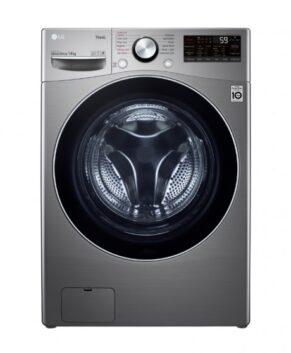 LG Series XL 14kg Front Load Washing Machine - Silver WXL-1014E