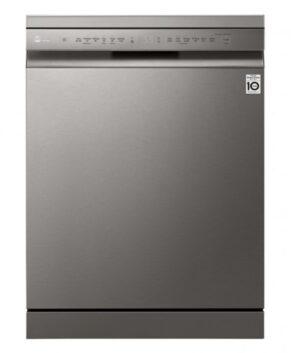 LG 14 Place QuadWash Dishwasher - Platinum Steel XD5B14PS