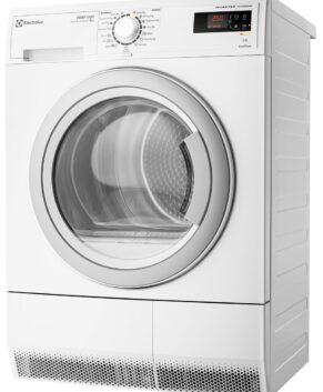 Electrolux 8kg Heat Pump Dryer 6 Stars Energy Rating EDH3786GDW