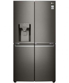 LG 706L French Door Fridge with Door-in-Door - Black Stainless GF-D706BSL