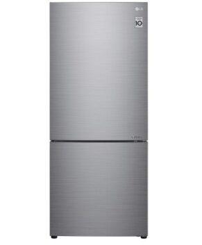LG 420 LITRE BOTTOM MOUNT REFRIGERATOR - STAINLESS STEEL GB455PL
