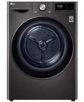 LG 9kg Heat Pump Dryer with Inverter Control - Black Steel DVH9-09B