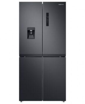 Samsung 488L French Door Refrigeration - Black Layered Steel SRF5700BD